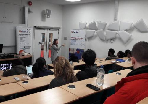 Special seminar for University of Kent students
