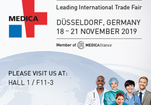 Come and Meet Us at MEDICA