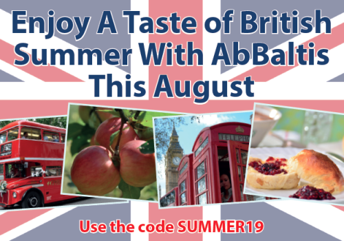 Special Offer: Enjoy A Taste Of British Summer